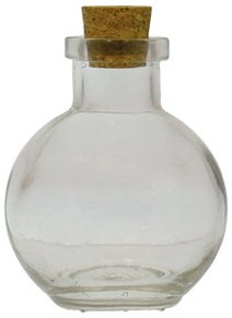 3.4 oz. Small Clear Ball Diffuser Bottle
